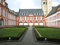 Brauweiler abbey near cologne germany a former originating in middle ages benedictine monastery located at north rhine Stock Photos