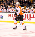 Braydon Coburn Philadelphia Flyers Defenseman Stock Photography