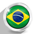 Brazil Creative Design Royalty Free Stock Photo