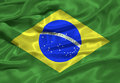 Brazil Flag 3 Royalty Free Stock Photo