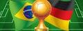 Brazil Germany Royalty Free Stock Photo