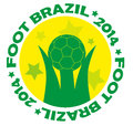 Brazil logo artwork vector design Stock Photos