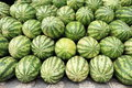 Brazil: Melons for Sale Royalty Free Stock Photo