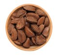 Brazil nut in shell Royalty Free Stock Photo