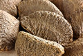 Brazil nuts close up Stock Photo