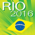 Brazil 2016 Rio de Janeiro Olympic Games Royalty Free Stock Photo