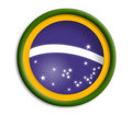 Brazil shield Stock Image