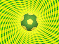 Brazil Soccer Ball Background Royalty Free Stock Photos