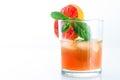 Brazilian Caipirinha Cocktail Royalty Free Stock Photo