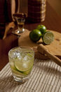 Brazilian Caipirinha Set Royalty Free Stock Photo
