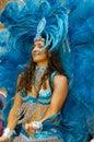 Brazilian Carnival. Royalty Free Stock Photo