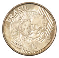Brazilian centavos coin Royalty Free Stock Photo