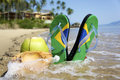 Brazilian Flipflop Royalty Free Stock Photos