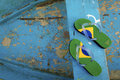 Brazilian Flipflop Royalty Free Stock Photography