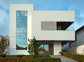Brazilian home newly built modern house Stock Photo