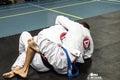 Brazilian Jiu Jitsu Royalty Free Stock Photo
