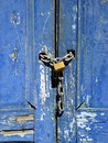 Brazilian Locked Door Royalty Free Stock Photo
