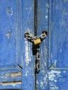Brazilian Locked Door Royalty Free Stock Photo