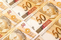 Brazilian money Stock Photography