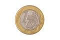 Brazilian 1 Real coin