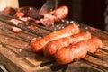 Brazilian Toscana Sausage Royalty Free Stock Photo