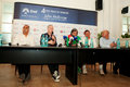 BRD Nastase Tiriac Trophy press conference Royalty Free Stock Images