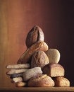 Brödsammansättning Arkivbild