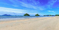 Breach nop parathara island krabi panorama thailand Stock Images