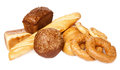 Bread assortment Royalty Free Stock Photos