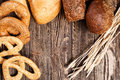 Bread assortment Stock Photography