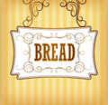 Bread bakery labels pack for bread wheat ear of wheat Royalty Free Stock Photography
