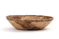 Bread basket on a white table background Royalty Free Stock Images