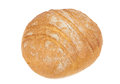 Bread with cracked crust on top of the loaf Stock Image