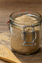 Bread crumbs plain selective focus Royalty Free Stock Photography