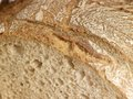Bread detail of a brown Royalty Free Stock Photos
