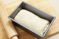 Bread dough ready to rise Stock Photography