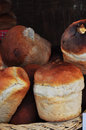 Bread photography of homemade ukrainian rustic Royalty Free Stock Photo