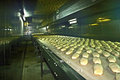 Bread production in a factory in romania Royalty Free Stock Photography