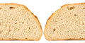 Bread from rye and wheat flour Stock Images