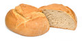 Bread from rye and wheat flour Royalty Free Stock Images
