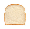 Bread Slice isolated Royalty Free Stock Photo