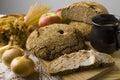 Chléb rozšířit sádlo
