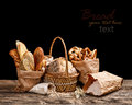 Bread still life Royalty Free Stock Photo