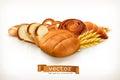 Bread, Vector Illustration