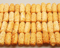 Bread wheat stick background Stock Photo
