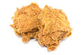 Breaded chicken fingers Royalty Free Stock Photo