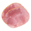 Breaded ham slices Stock Image