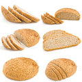 Breads collection Stock Photos