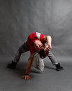 Break dance Royalty Free Stock Images