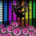 Break dancing indicates hip hop and break dance dancer meaning dancer Royalty Free Stock Images
